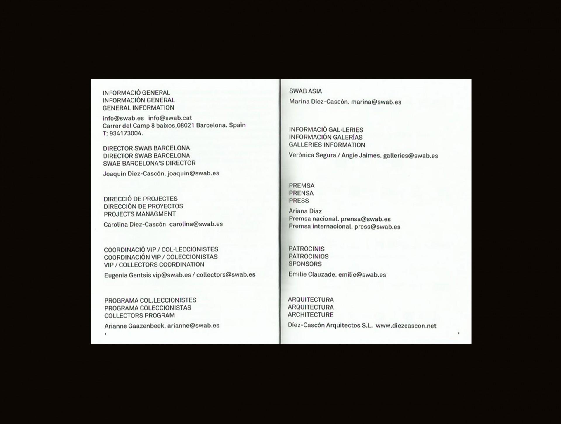 A. AMILL BOSCO SWAB BARCELONA 2018
