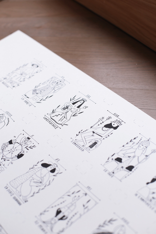 A. AMILL BOSCO DESIGN FOR «COLOURS OF TAROT»
